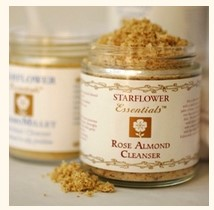 starflower - Rose Almond Exfoliant Cleaner